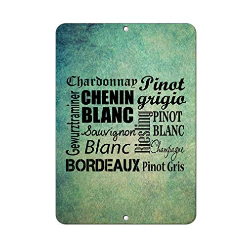 Chenin Blanc Metal Tin Sign Aluminum Sign Poster Decor for Home Bar Office Pub
