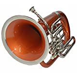 EUPHONIUM 3 VALVE Bb PITCH COPPER+NICKEL WITH BAG AND MP