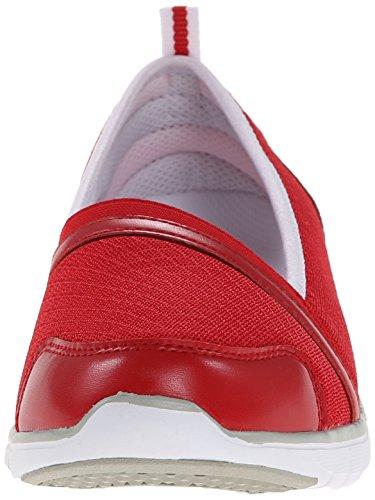Propet Womens Travellite Sn Walking Scarpa Rossa