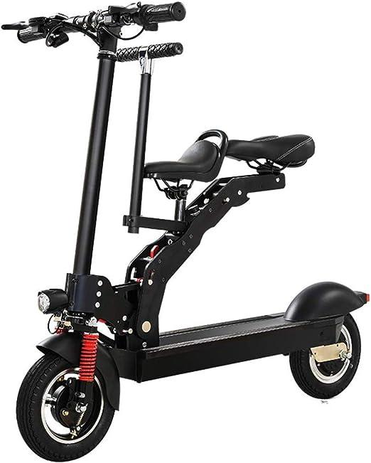 YLIK Los Scooters eléctricos, Mini Plegable Bicicleta eléctrica ...