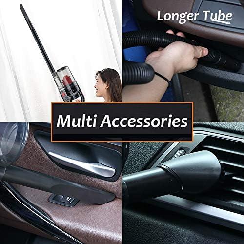 Aspirateur à main sans fil, Aspirateur de voiture portable 6000PA rechargeable 150W automatique Aspirateur sans fil Aspirateur portable for Home Office voiture
