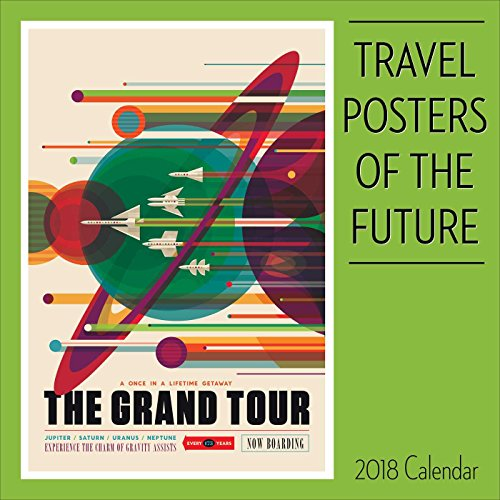 Travel Posters of the Future 2018 Wall Calendar cover