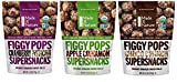 Made In Nature Organic Figgy Pops Supersnacks 3 Flavor Variety Bundle: (1) Cranberry Pistachio, (1) Choco Crunch, and (1) Apple Cinnamon, 4.2 Oz. Ea.
