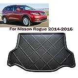 Car boot liner Cargo Mat Tray Trunk Floor Protector Mat Carpet Car trunk protectors Custom Fit Nissan Rogue 2014 2015 2016