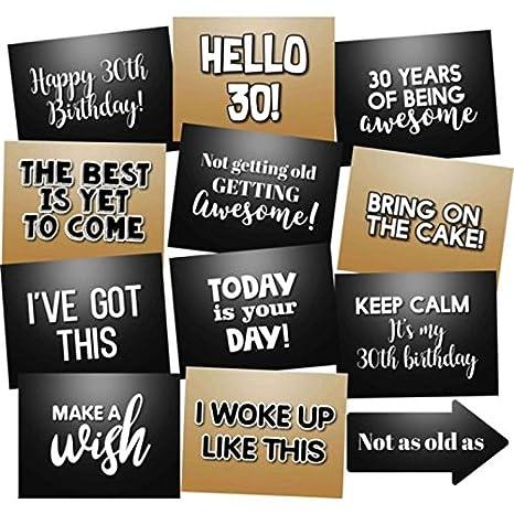 Amazon.com: Cumpleaños Kit de accesorios de Photo Booth ...