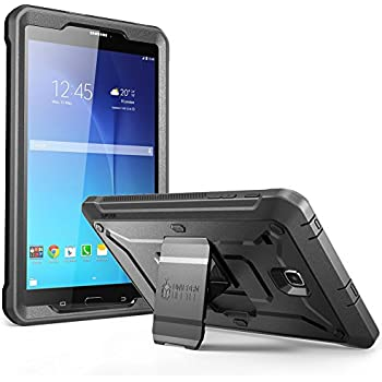 SUPCASE Galaxy Tab E 8.0 Case, Unicorn Beetle PRO Series Full-body Hybrid Protective Case with Screen Protector for Samsung Galaxy Tab E 8.0 Inch SM-T378/ SM-T375 / SM-T377 Tablet (Black)