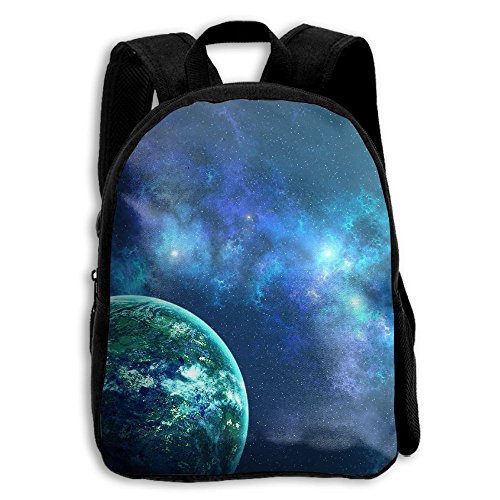 DGYEG44 Colorful Galaxy Space Magical Nebula Planet Backpack School Bag Bookbag For Kids Boys Girls Womens from DGYEG44