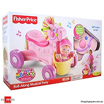 Amazon.com: Fisher-Price Fisher Price Musical Pony And Doll ...