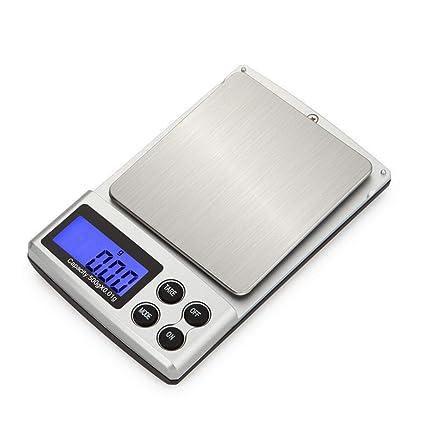 Onepeak Escala de Peso de 100 g / 0.01 g, Escala de Peso de 200