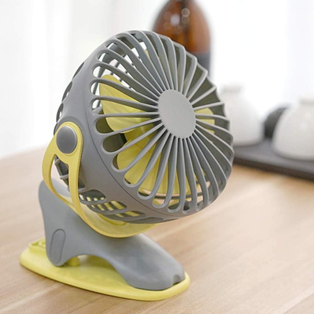 Student Car Fan-c Clip Office Creative Fan USB Charging