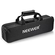 Neewer® Durable Water-resistant Gig Flute Bag with Adjustable Single Shoulder Strap Pocket Cotton Padded for Concert Flute (Black)