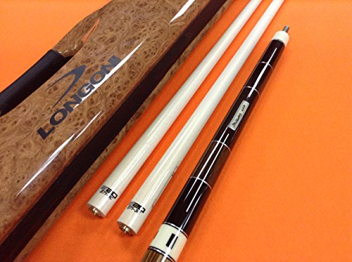 LONGONI CAROM CUE BLADES WITH TWO S20 SHAFTS & SOYUZ CASE by LONGONI