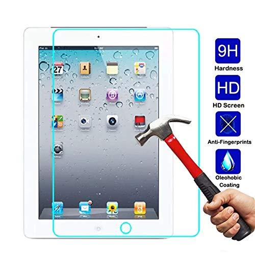 ESR Screen Protector for the iPad 2018 / iPad 2017 / iPad Air 2 / iPad Air / iPad Pro 9.7, Ultra Clear 9H Tempered Glass Screen Protector with Self-Installation Tool Anti-Scratch Anti-Fingerprint