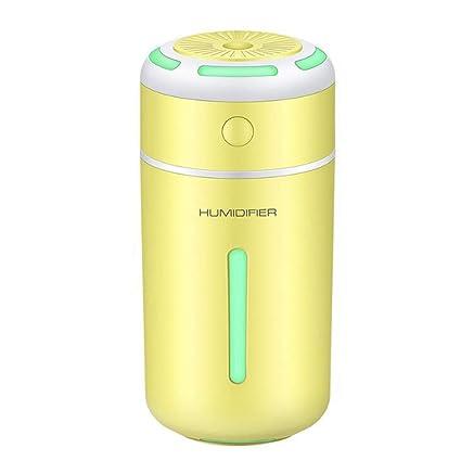 Humidificador Niebla,mini Humidificador Ultrasónico Escritorio Para Niños Pequeños Con 7 Luces LED Color,