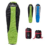 "Cheap Outdoor SANJIA 46°F Sleeping Sack [86""×30"",2.7lbs] with Compression Cotton bag for Camping,Best Backpacking Sleeping Bag."