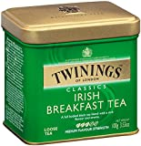 Image of Twinings of London Irish Breakfast Loose Tea Tins, 3.53 Ounce (Pack of 6)