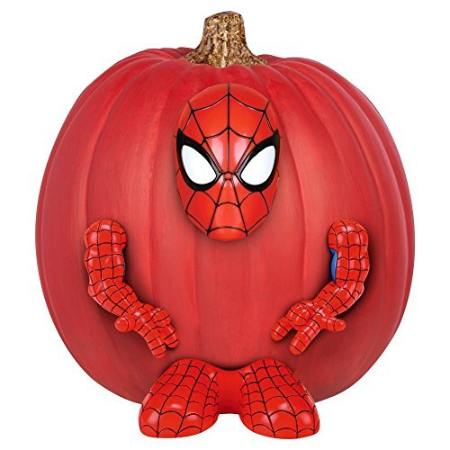 Spider-man Pumpkin Halloween Decorating Kit ()