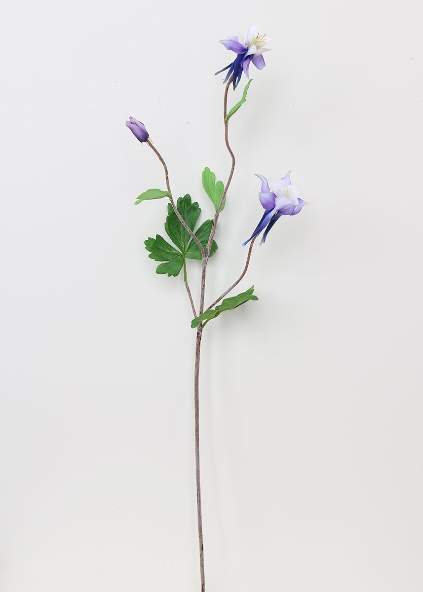 Amazon Sullivans Sul Purple Columbine Artificial Flower