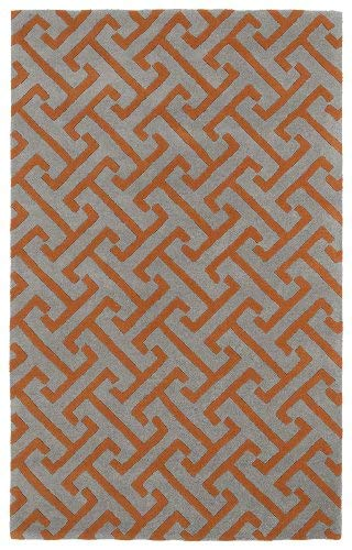 "Kaleen Rugs Revolution Collection REV04-75 Grey Hand Tufted 5' x 7'9"" Rug from Kaleen Rugs"