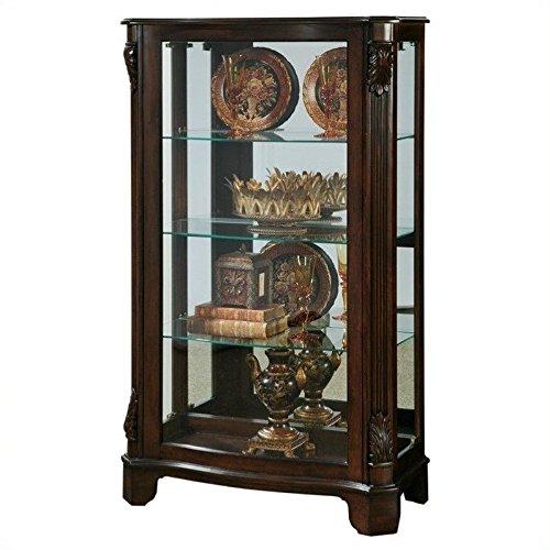 Wood Curio Cabinet - 7