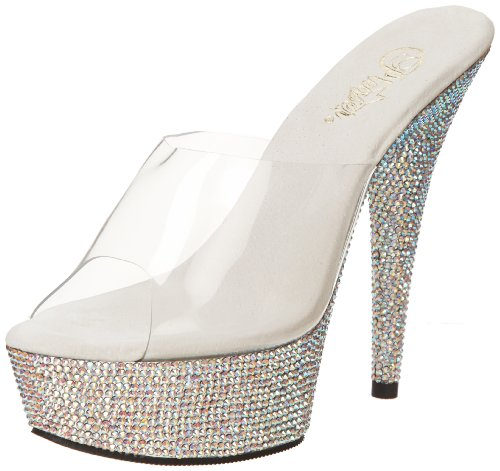 Slv Pleaser Clr BEJEWELED Shoes Multi 601DM USA Rs 1aqxUxwO