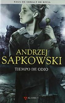 Tiempo de odio par Sapkowski