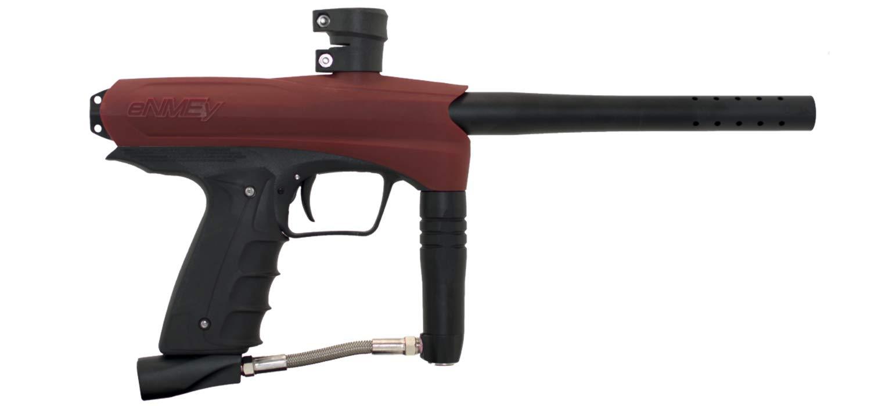 GOG New GEN2 eNMEy Paintball Gun Mechanical 68 Caliber Marker Semi-Automatic (Red)
