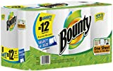 1 X Bounty Paper Towels, 8 Select A Size Giant Rolls (equivalent to 12 Select A Size Regular Rolls)