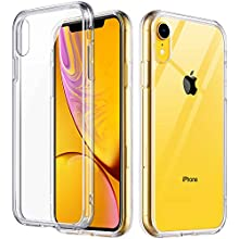 ULAK iPhone XR Case Clear, Slim FIT Premium Transparent Flexible Soft TPU Gel Ultra-Thin Anti-Scratch Bumper Hard Panel Protective Cover for Apple iPhone XR 6.1 inch 2018 (HD Crystal Clear)