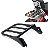 Sport Sissy Bar Backrest Luggage Rack For Harley Sportster XL 04-17 Dyna 06-17
