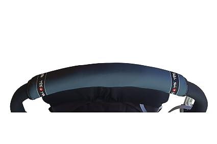 Tris&Ton Fundas empuñaduras horizontales Modelo Azul, empuñadura funda para silla de paseo cochecito carrito carro