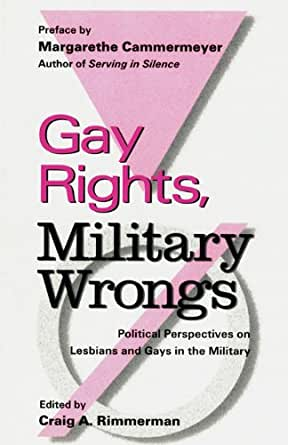 Gay rights+military