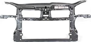 Radiator Support Assembly Compatible with 2005-2010 Volkswagen Jetta Black Plastic 1.9L/2.0L Eng.