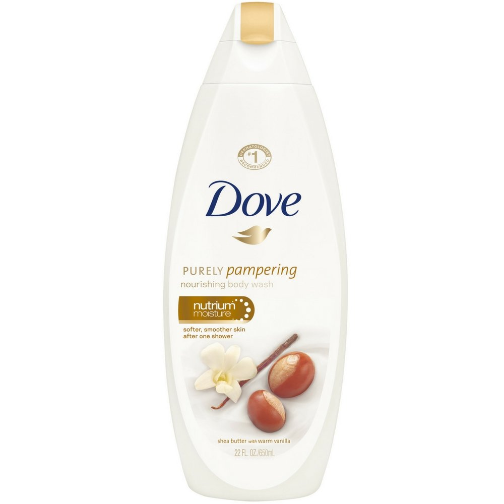 Amazon Com Dove Purely Pampering Nourishing Body Wash Nutrium Moisture Shea Butter With Warm Vanilla 22 Oz Pack Of 2 Beauty