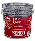 Senco 06A125P DuraSpin Number 6 by 1-1/4-Inch