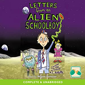 Letters from an Alien Schoolboy Audiobook