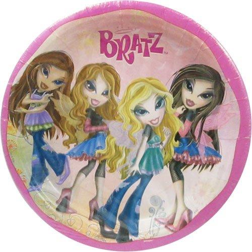 - Bratz 'Fashion Pixiez' Large Paper Plates (8ct)
