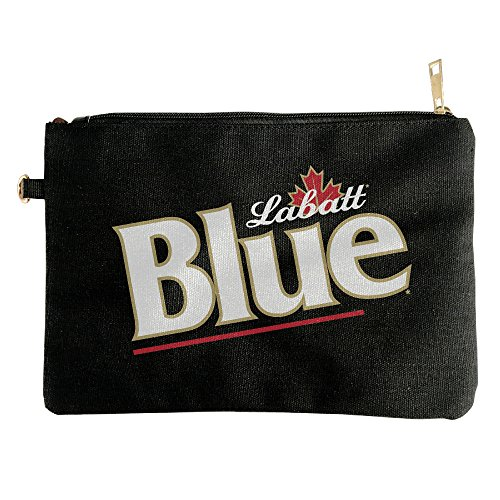 canada-labatt-blue-beer-canvas-zipper-pouch-pencil-case-make-up-bag-cell-phone-bag-travel-toiletry-o