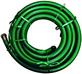 Dixon CCH50 PVC Green PVC Country Club RT Hose W/1'' NPSH Brass Couplings, 150 psi, 50' Length, 1'' ID