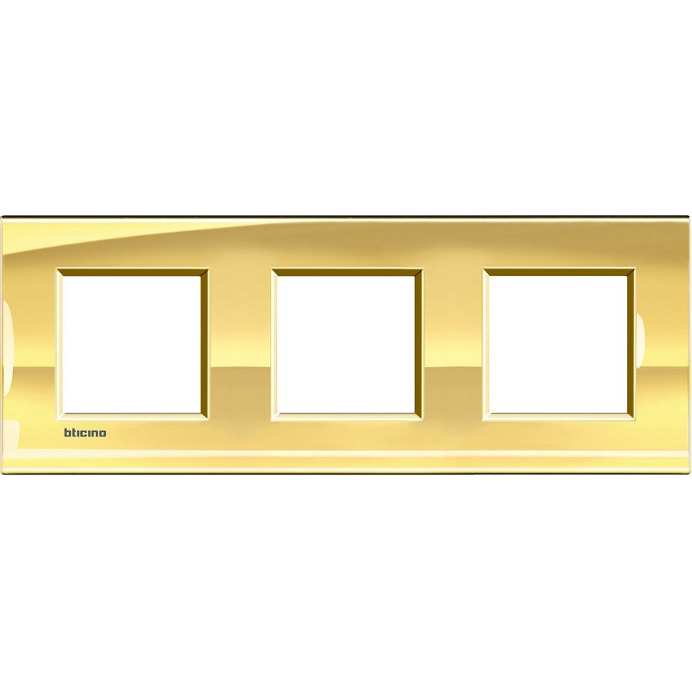 Legrand LNA4802M3OA placa de pared y cubierta de interruptor 255 mm, 100 mm, 1,6 cm, 247 g Placas de pared y cubiertas de interruptor