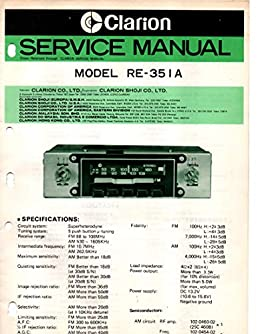 clarion radio manuals