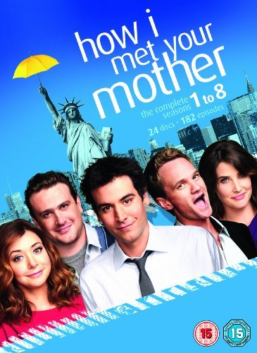 How I Met Your Mother (Complete Seasons 1-8) - 24-DVD Box Set ( How I Met Your Mother - Complete Seasons One thru Eight (182 Episodes) ) [ NON-USA FORMAT, (182 Series)