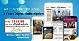 Wall Street Journal (WSJ Magazine) 2 Years Digital Subscription (start in 24 hours)