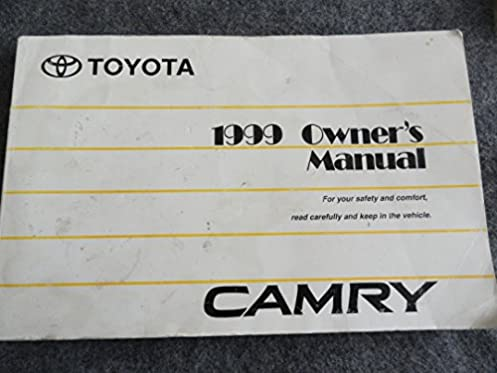 1999 toyota camry owner s manual toyota motor corporation amazon rh amazon com 1999 toyota camry owners manual download 1999 camaro owners manual