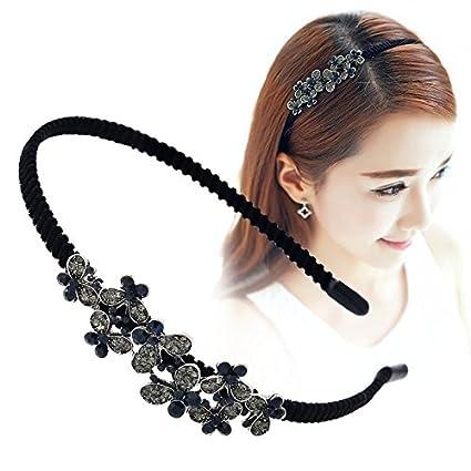 Amazon.com  TKHNE Limited time price hair accessories fake diamond ... 74688fe7760
