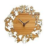 """Panda Superstore Decoración Animal Linda de la Sala de Estar Relojes de Pared Modernos de la Pared de los Relojes de Pared 12"""""""
