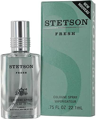 STETSON FRESH by Coty COLOGNE SPRAY .75 OZ for MEN ---(Package Of 2)