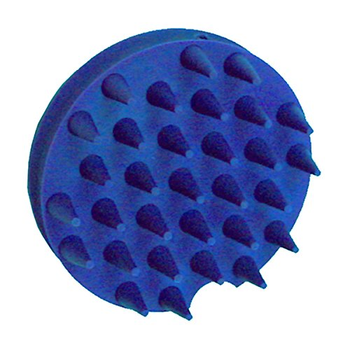 Massage Curry (Grooma The Little Groomer Horse Curry Comb/Brush, Blue)