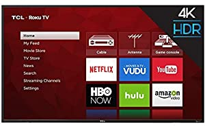 TCL 55-inch 4K 2160P 120Hz CMI LED HDR Roku Smart HDTV (No Stand) (Certified Refurbished)