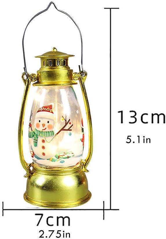 WYILIY Christmas Lantern Led Luminous Creative Decoration Portable Lantern